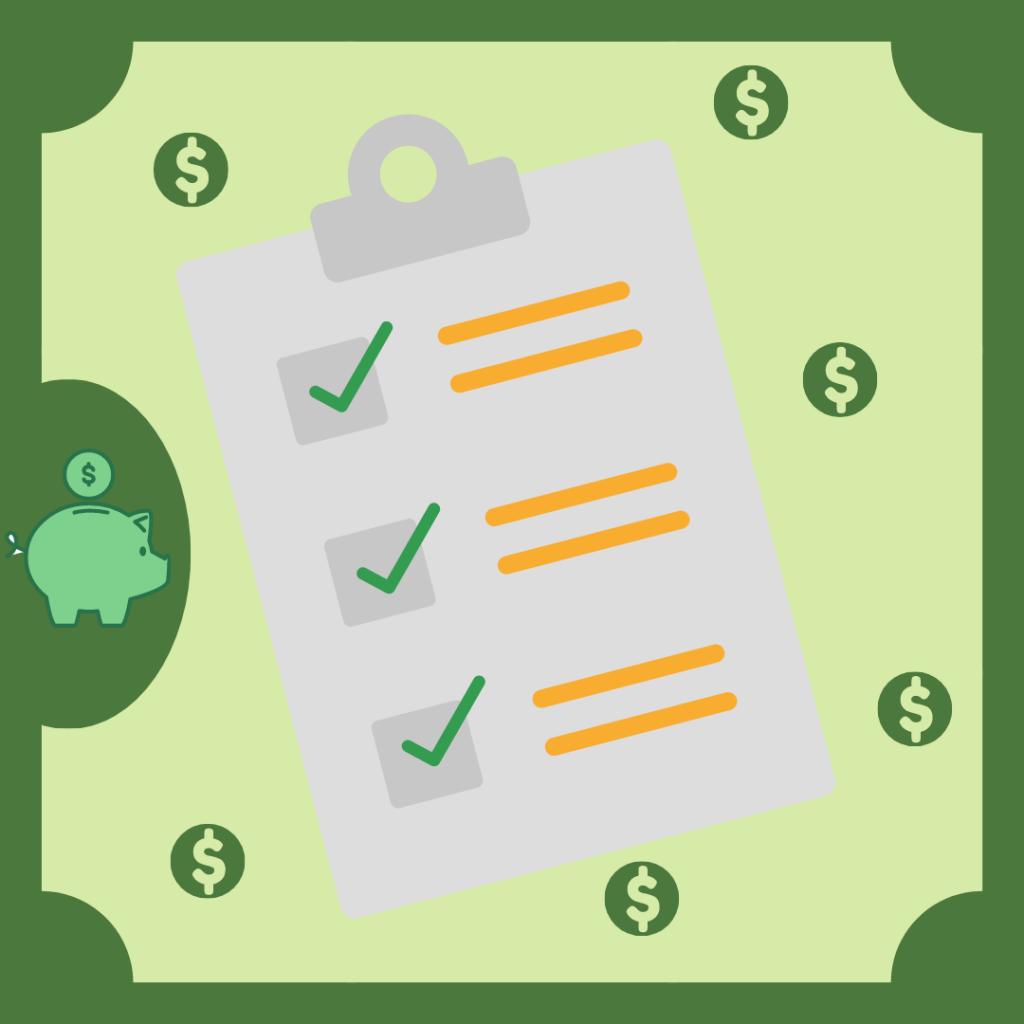 Imagem representativa de um check-list para conseguir capital de giro para a empresa