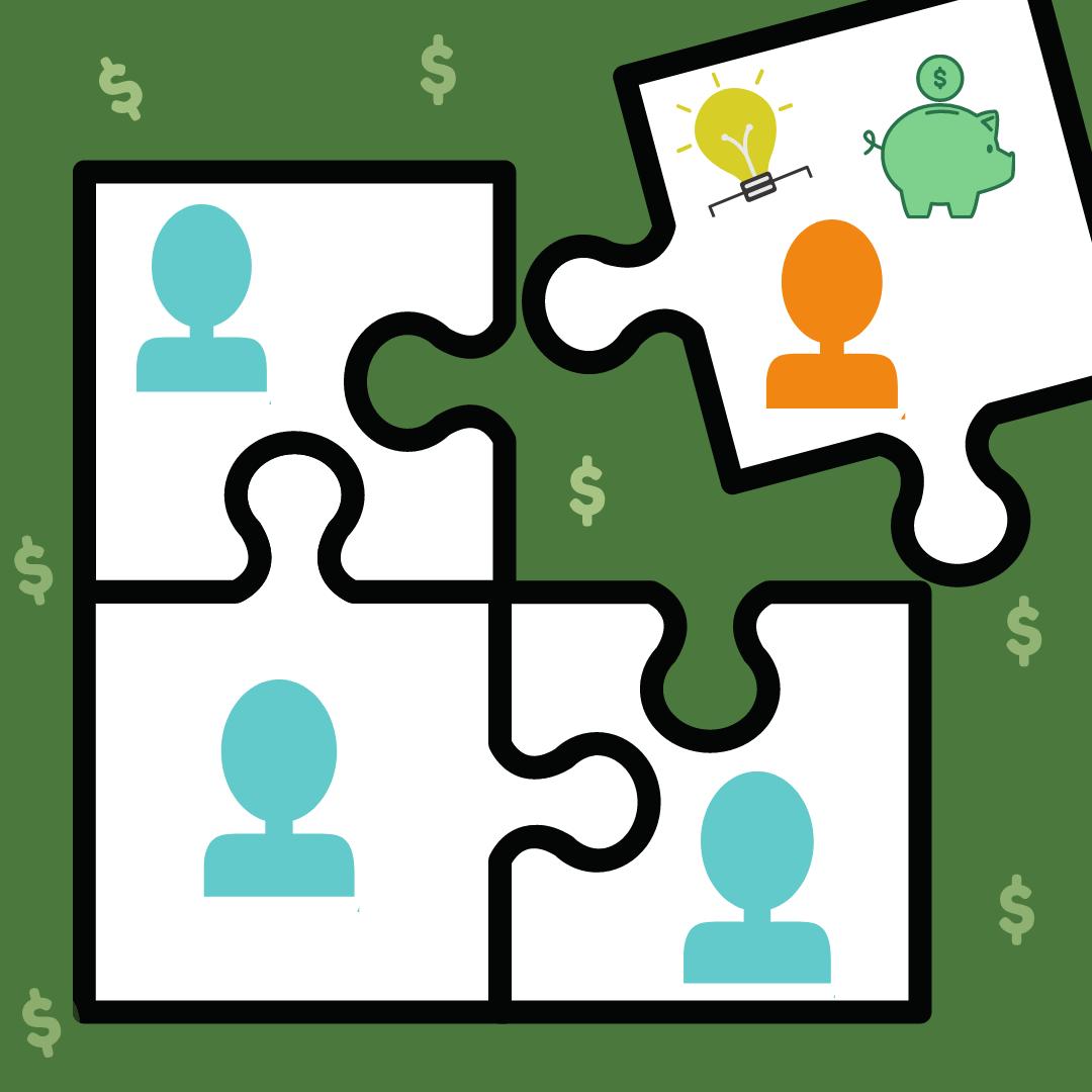 Imagem Que Ilustra Como Um Sócio Para Ajudar Com Capital De Giro E Com Outros Benefícios Para A Empresa