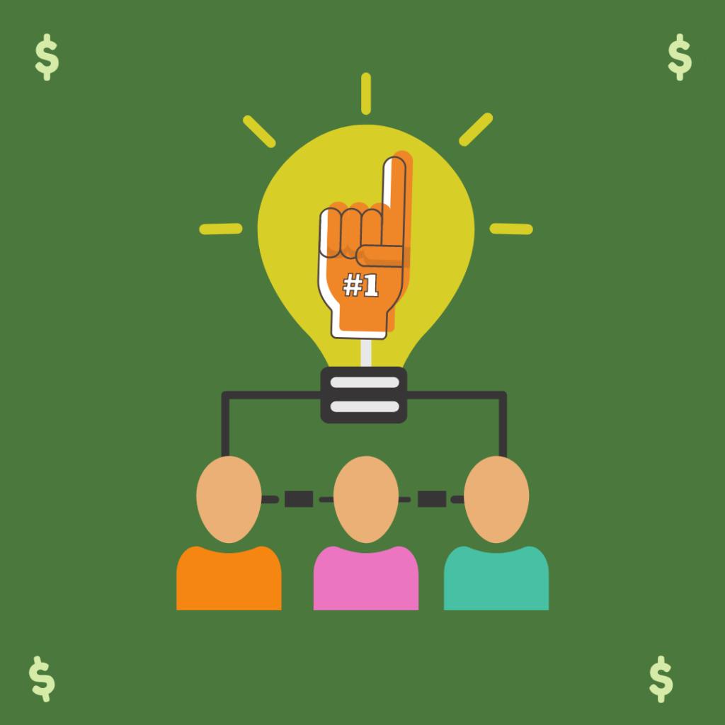 Imagem que mostra os benefícios da sociedade para além de trazer crédito para a empresa