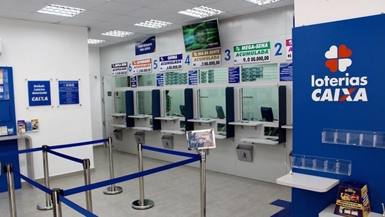 Lotérica à venda