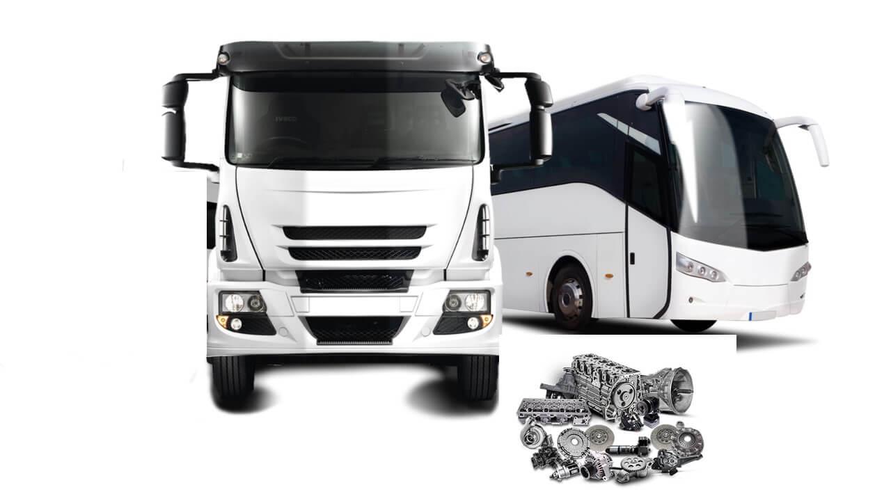 Exportação de peças de reposição de caminhões e ônibus